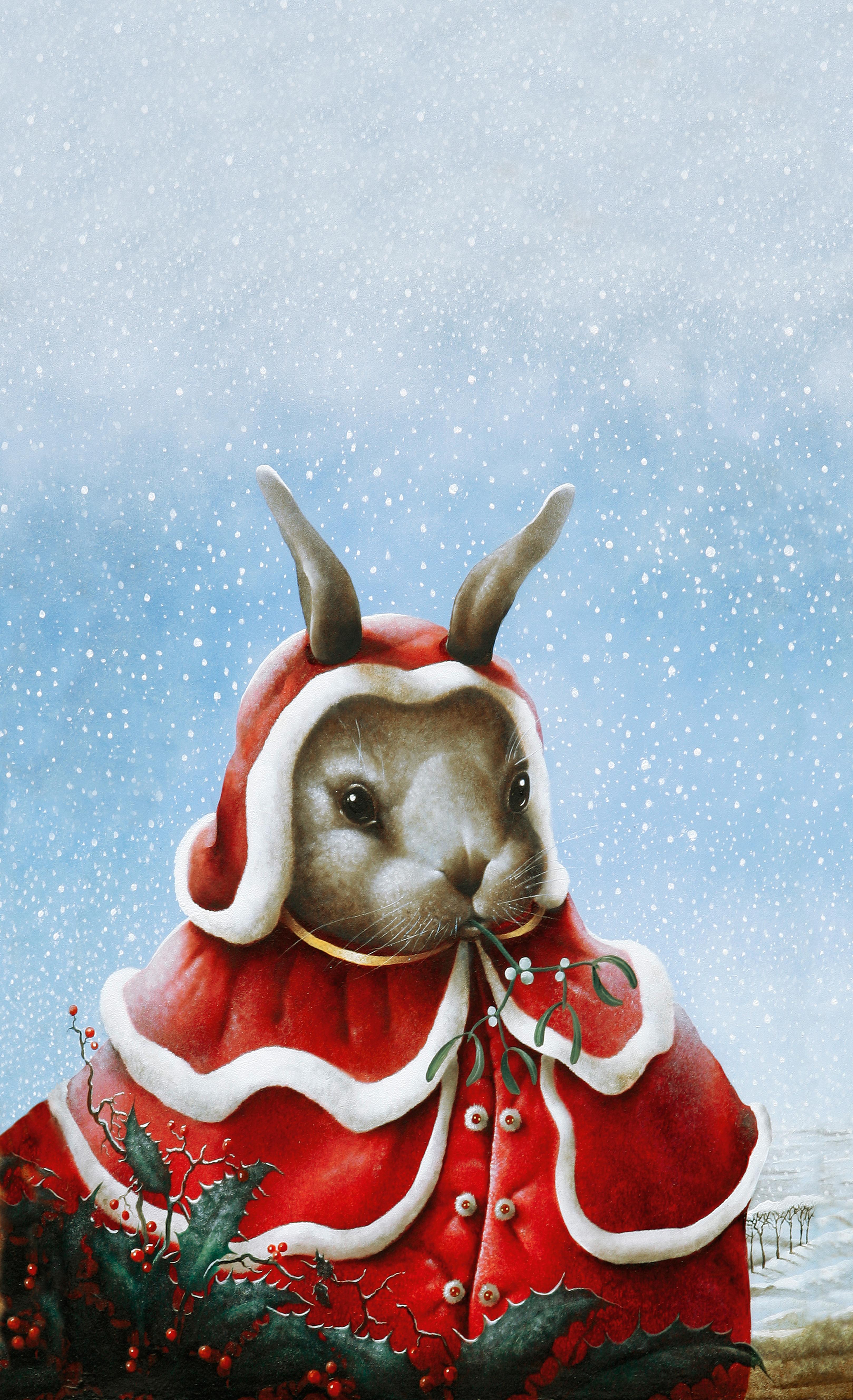 Jong Kerstkonijn